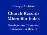 Presbyterian Churches-Histories ...