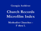 Methodist Churches - F thru L...