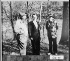 (Murray County), mid-1960s. Left to right: Burton J. Bell, 7th district U.S. Congressman John W....