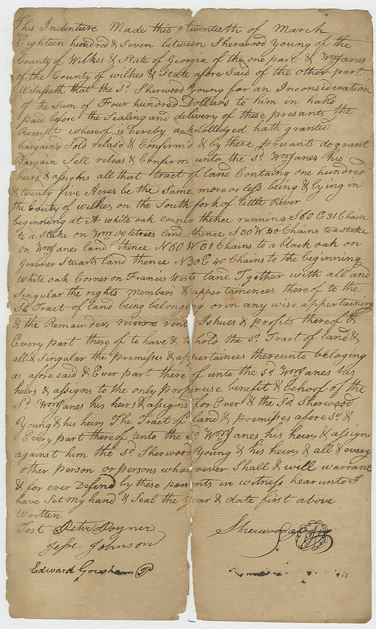 Page 1 - Wilkes County Court Records - Georgia's Virtual Vault